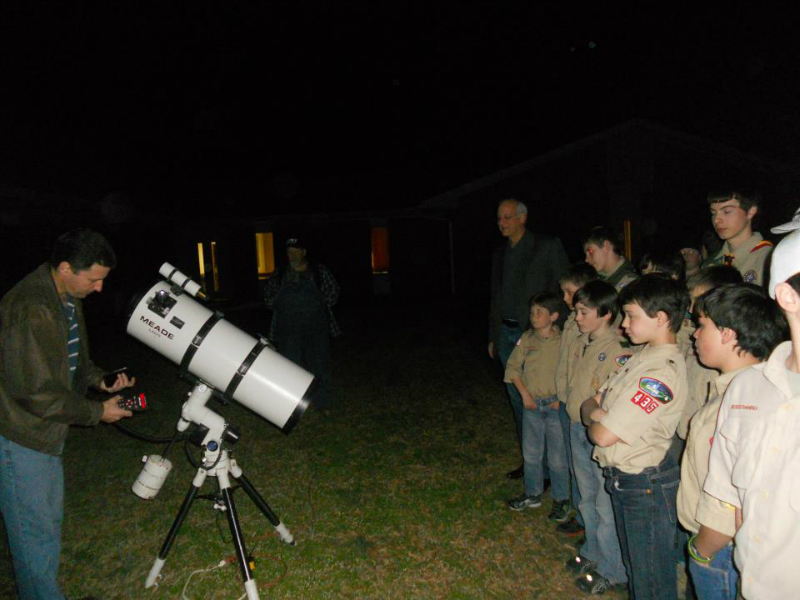 Scout Star Party